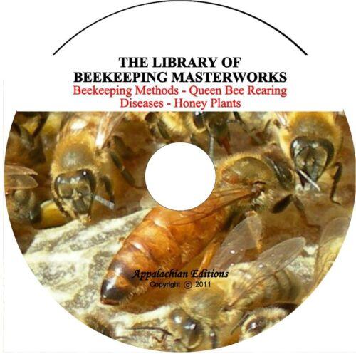 Queen Bee Rearing Modern /& Classic Methods,Bee Diseases Beekeeping Master Works
