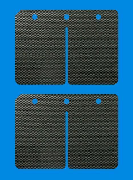 CHAO Carbon Membrane für Kart TM K8 K9 K9 K9 KZ10 0 32mm Stage3 221a39