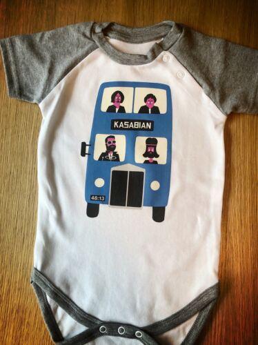 6-12  Month Kasabian Babygrow// Toddler wear Rock Baby Clothes