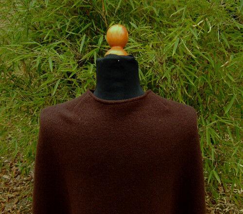 Gewandung Moyen Âge Reenactment Latex Demi-cercle manteau 100/% Laine Différentes Couleurs