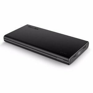 EasyAcc-Smart-10000mAh-CF-Powerbank-Portable-Externer-Akku-Ladegeraet-fuer-iPhone