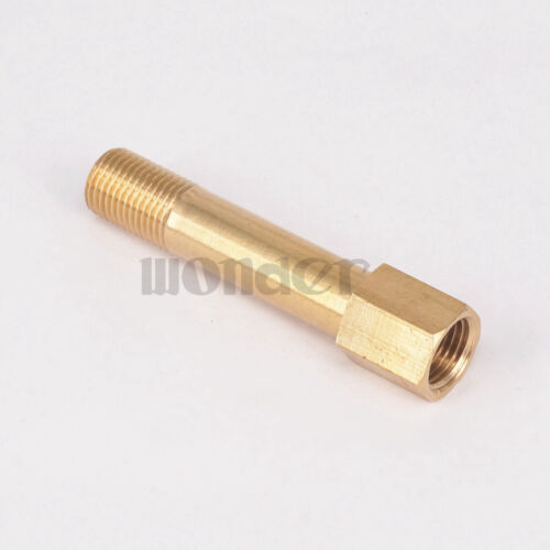 """1//4/"""" BSP Male To Female Length 75mm Brass Connector Mold Coupler"""