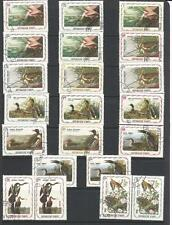 50 Haiti Audubon Birds Exotic Complete Set For Your Collection Shipped Free