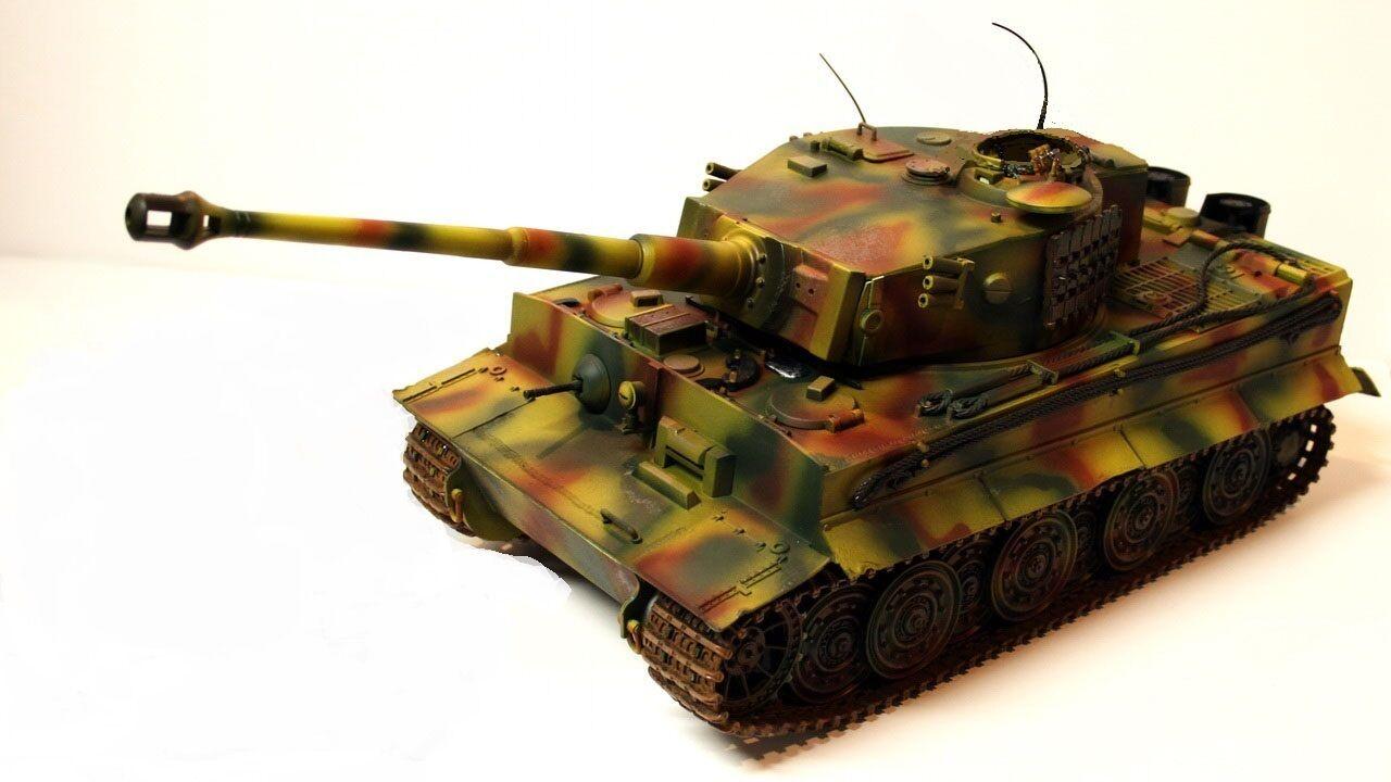 JSI 1/18 MILITAIRE CHAR TANK  PzKfw VI TIGER 1 - Ausf.A