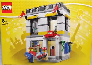 LEGO-City-40305-Brand-Retail-Store-Lego-Geschaeft-Laden-Kaufhaus-RAR-NEU