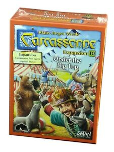 Z-Man-Games-Carcassonne-Expansion-10-Under-the-Big-Top-New-and-Sealed