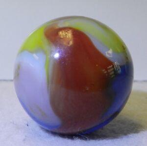 8414m-Vintage-Vitro-Agate-5-Color-Parrot-Marble-93-Inches