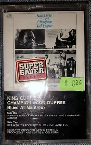 SEALED CASSETTE TAPE KING CURTIS & CHAMPION JACK DUPREE BLUES AT MONTREUX LOOK!!