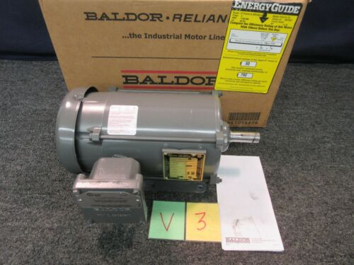 Baldor Reliance Electric Motor EM7032t CB54619 1-.75 hp 3 ph 230 460 1155 Rpm AC