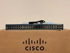 Cisco-WS-C4948-10GE-S-48-Port-Gigabit-10GB-Switch-w-X2-10GB-SR-Single-AC-15-0