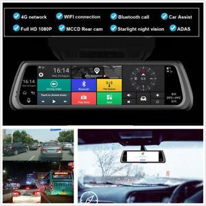 10-034-Touch-IPS-Special-4G-Car-Dash-DVR-Dual-Camera-Mirror-GPS-Bluetooth-WIFI-ADAS