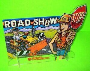 Road-Show-Pinball-Machine-3-D-Plastic-NOS-Promo-Display-In-Original-Williams-Bag