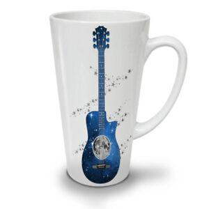 Guitar Planet Earth NEW White Tea Coffee Latte Mug 12 17 oz   Wellcoda