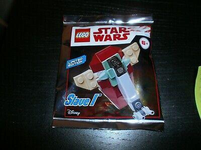 911945 LIMITED EDITION Foil Pack ORIGINAL LEGO STAR WARS SLAVE I Sealed NEW