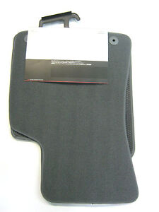 original-Audi-TT-8n-Tela-alfombrillas-stofffusmatten-delant-Gris-8n1061232eb