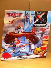 DISNEY PLANES - Waterfall Rescue Track Set With Pontoon Dusty - Story Sets