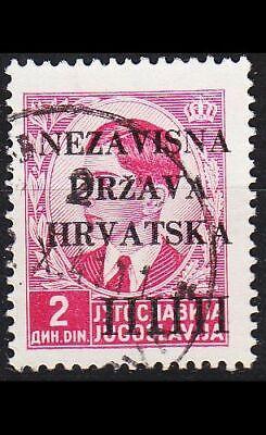 Minr 0005 1941 O/used Kroatien Croatia
