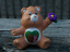 "thumbnail 3 - CUSTOM PAINT Lot of 5 Vintage UK Care Bear Characters 2"" Mini Figures  Daydream"