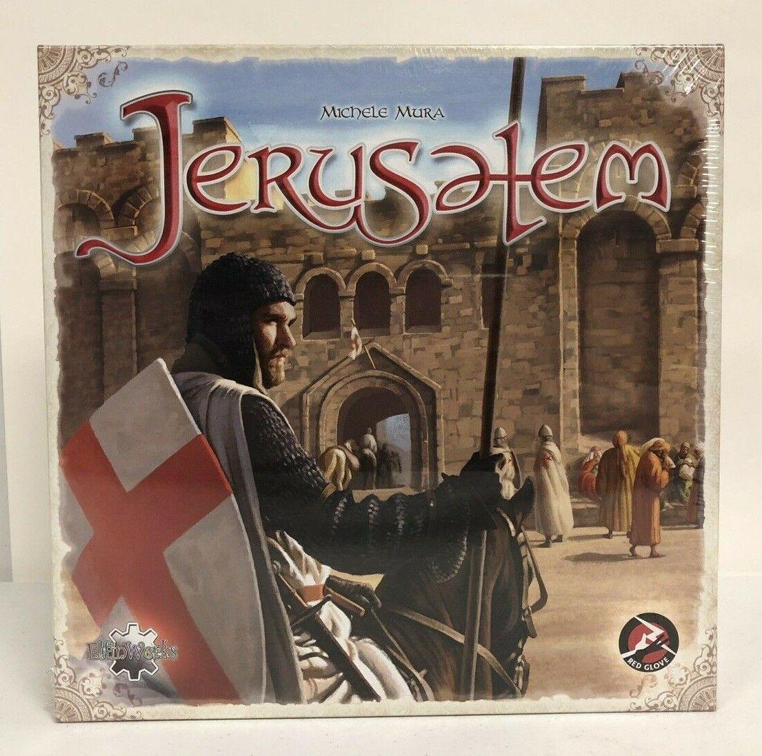 Jerusalem Board Game (Elfinwerks) 2010 Michele Mura RG2009 NIB