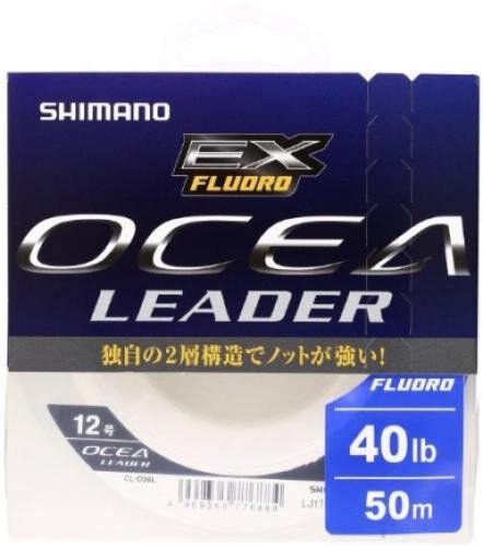 Shimano OCEA Leader EX Flugold CL-O36L 50m 40lb