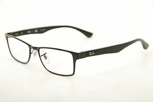 966daa90c1c01 New Authentic Ray Ban RB 6238 2509 Black Silver 53mm Frames ...