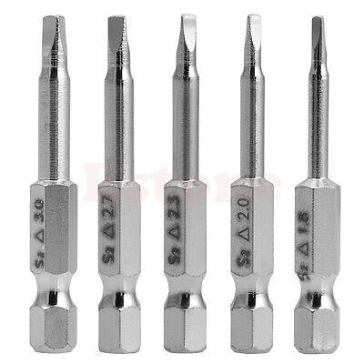 """1//4/"""" tige hex 100 mm long 4 mm Tip PH2 Magnétique Phillips Embouts De Tournevis 10pcs"""