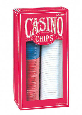 Las Vegas Casino Party Poker Chips Pk 150