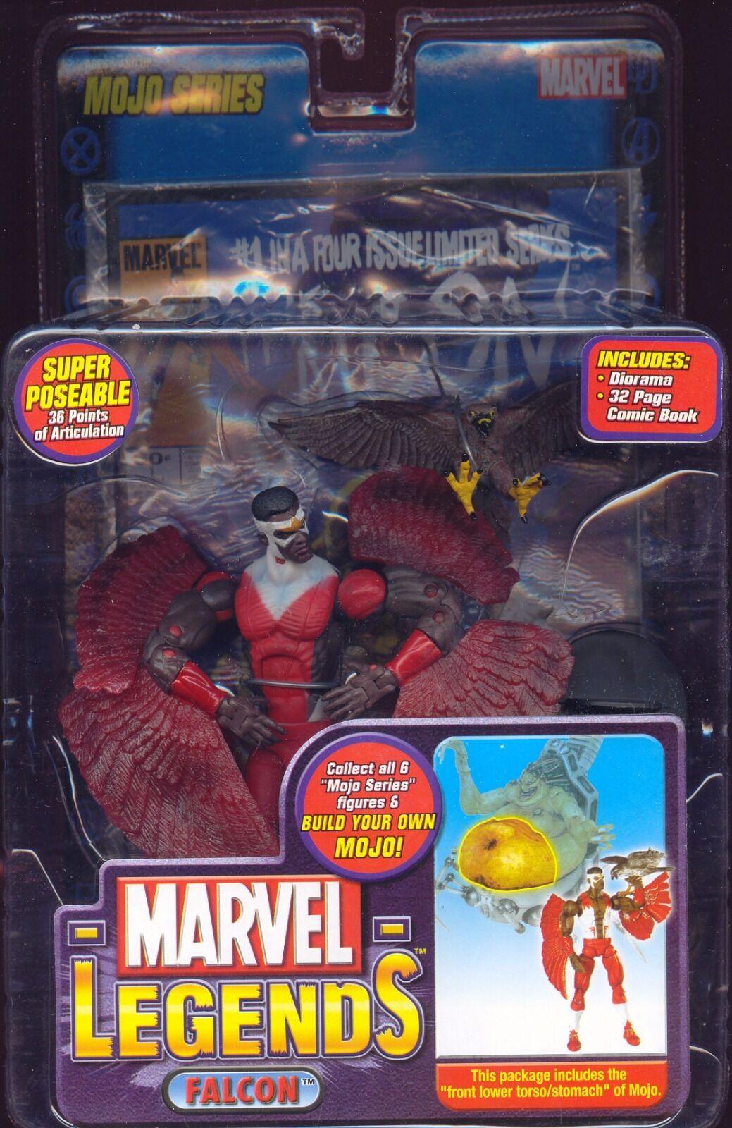 Marvel Legends Mojo BAF Series Falcon Variant (2006)
