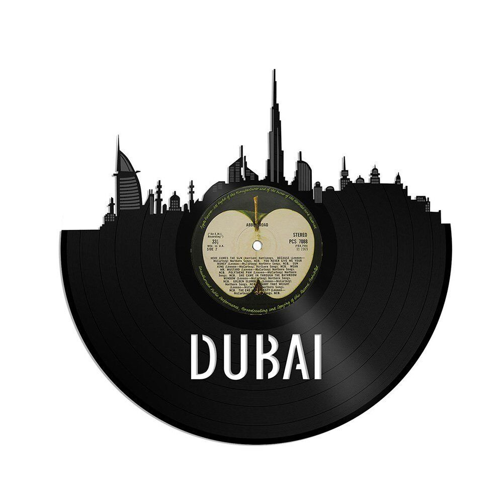 Dubai UAE Vinyl Wall Art City Skyline Travel Souvenir Home Bedroom Office Decor