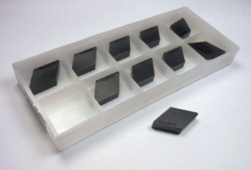10 Pcs NTK Ceramic Turning Inserts DNG432T0525 HC2