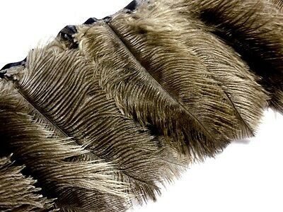 F133 PER FEET- Oliver Brown Ostrich feather on fringe Trim Fascinator Material