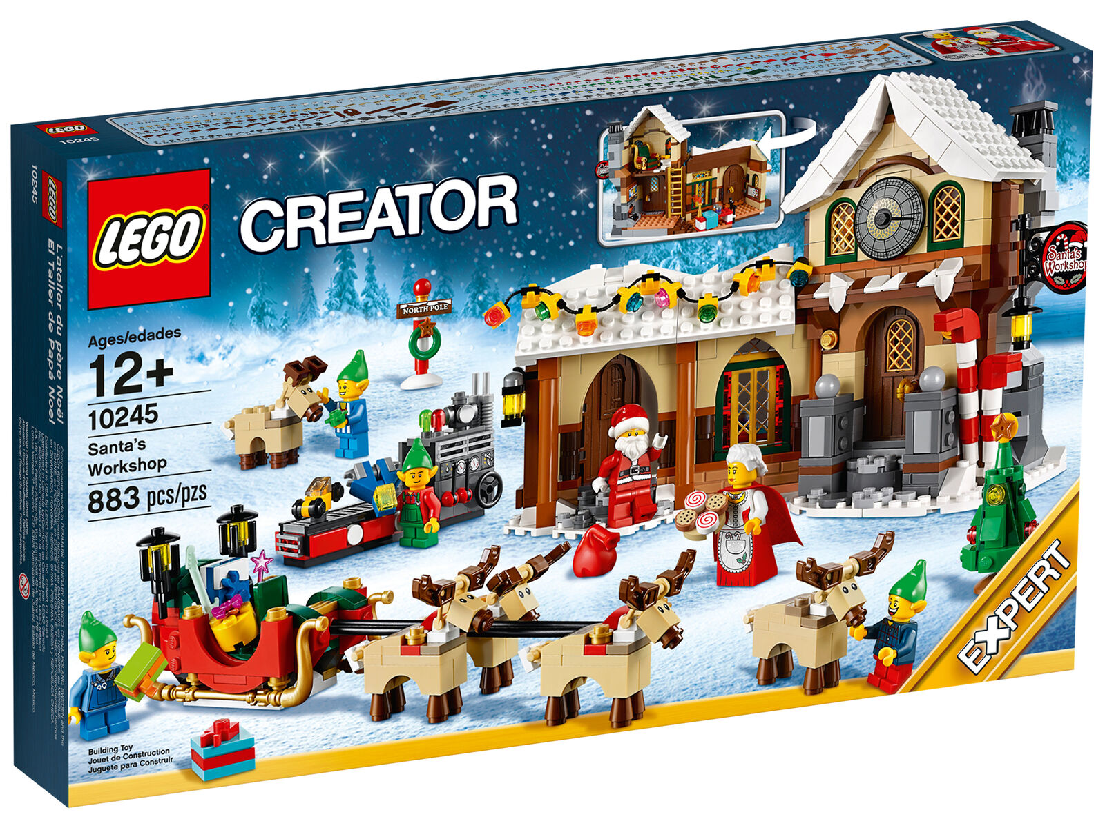 LEGO Creator Santa's Workshop (10245) - FACTORY SEALED, Direct from LEGO