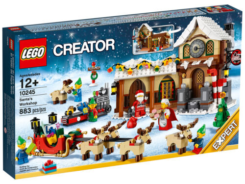 Lego 10245 Santa/'s Workshop RETIRED NEW IN SEALED BOX PACKED WITH CARE!!!