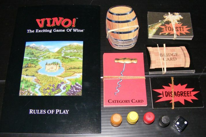 1994 VINO  The Exciting tavola gioco of of of Wine 3e4f1b