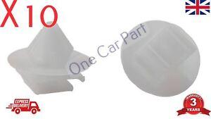 20x PEUGEOT 406 clips garniture en plastique pour côté des portes moulage Bumpstrip Rubstrip