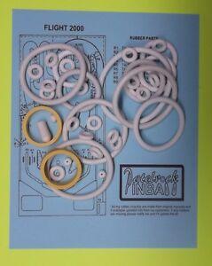 1980 Stern Flight 2000 pinball rubber ring kit