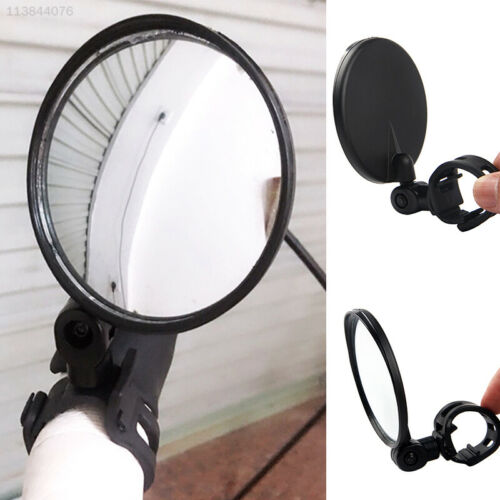 7692 Black Bicycle Rearview Mirror Rearview Mirror ABS Security Creative