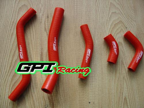 For KAWASAKI KXF450 KX450F KXF 450 2006-2008 2007 silicone radiator hose,RED