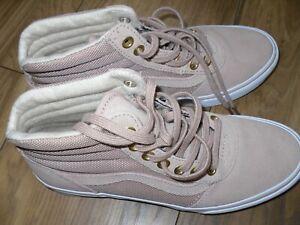 Ladies Vans - UK Size 4 - Nude Pink