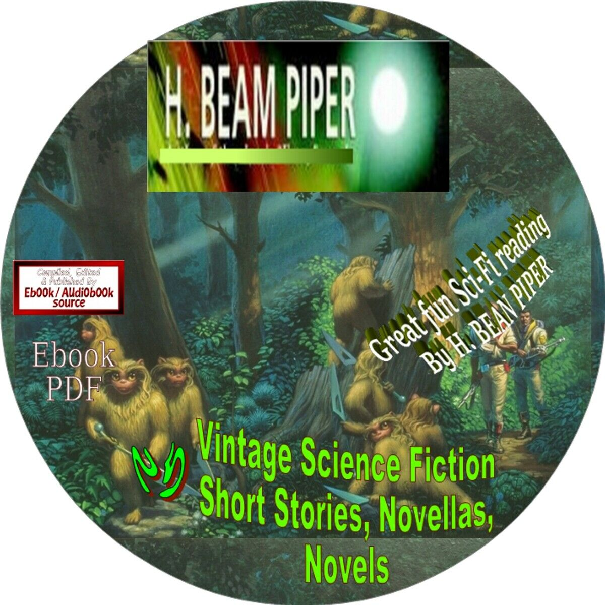 H. BEAM PIPER-GREAT SCIENCE FICTION STORIES, NOVEL ...25 EBOOKS IN PDF FORMAT 2