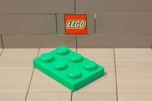 Shopping! Lego 6x modified plate with 2x3 Hole Yellow 3176 SHIP FREE on