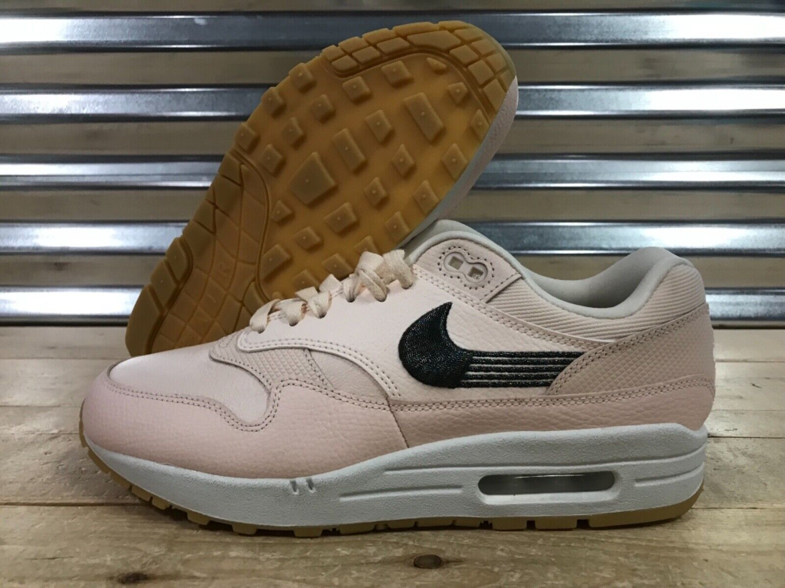 Nike Air Max Max Max 1 Premium Chaussures Goyave ICE Pour Femme Taille 10 (454746-800) 4e2cd3