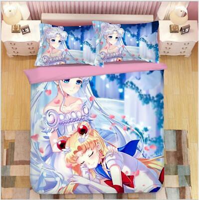 Intellektuell Sailor Moon Anime 3tlg.4tlg Bettwäsche Bettwäschegarnitur Deckenbezug Bedding SchöNe Lustre