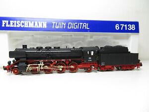 214n-Fleischmann-N-67138-Locomotiva-BR-39-158-DB-DCC-OVP-Kl-errori
