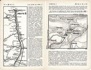 07 Privas 1914 plan ville- carte + guide (12 p) Tournon St-Péray La-Voulte Cruas 1IkdnO0R-08050911-915039710