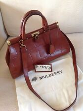 Stunning And Rare Mulberry Gladstone Bag Excellent Condition
