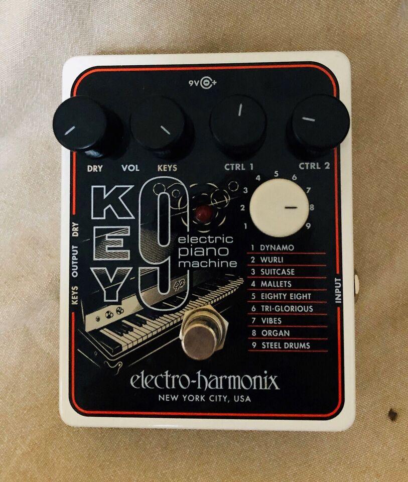 Fodpedal, Electro Harmonix KEY9 Electric Piano Machine