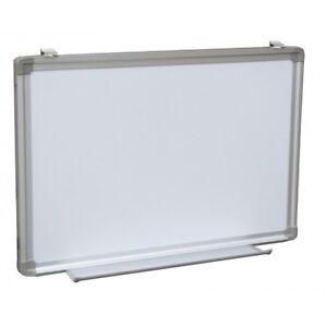 dry erase white board sign Tray Menu Magnetic Framed 36 x 60 Aluminum Whiteboard