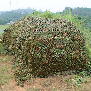 7x1.5m,4x 2M, 3x2M Net Camouflage Jungle Filet Hide  chasse camp militaire choix