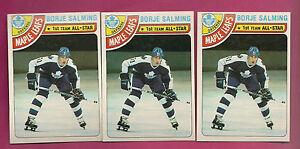 3-X-1978-79-TOPPS-240-LEAFS-BORJE-SALMING-AS-NRMT-CARD-INV-2598